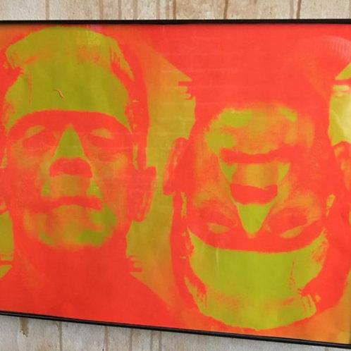 Art Orange Frankenstein