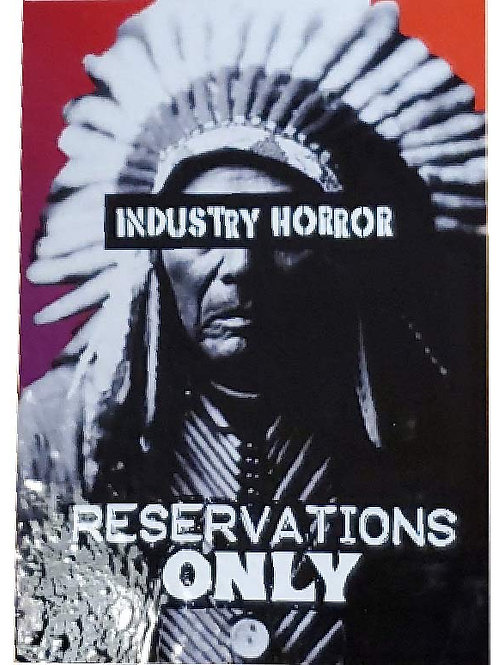 Reservations Only Sticker