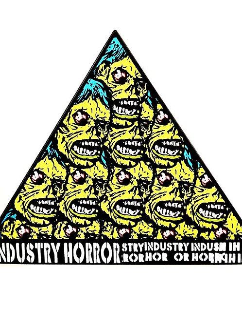 Zombie Pyramid Sticker