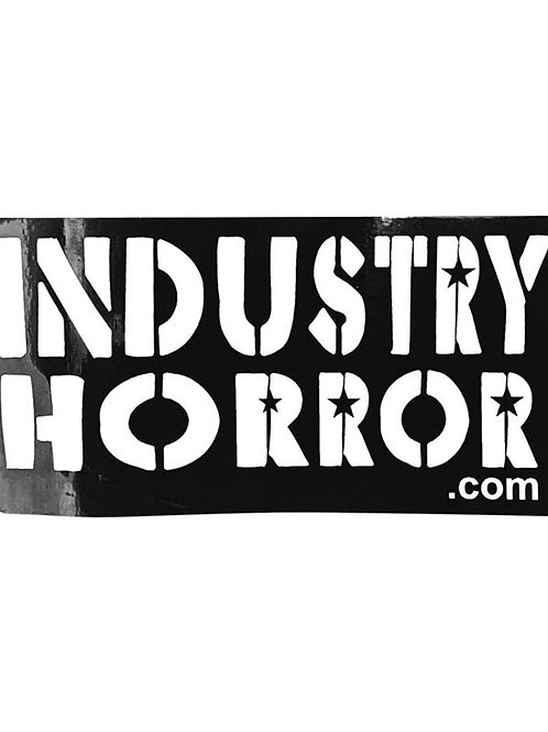 IndustryHorror.com Logo Sticker