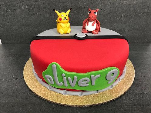 Pikachu taart (10 personen)