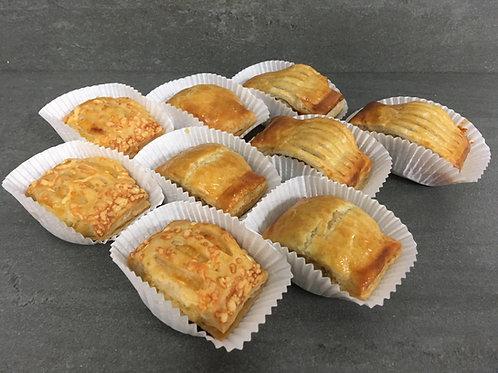 Hartige mini snacks (9 stuks)