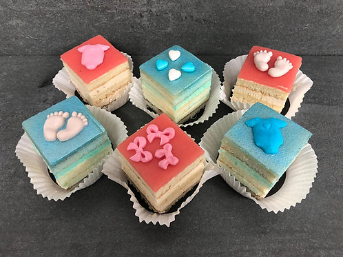 """Petit Fours """"Cake"""" babyshower"""
