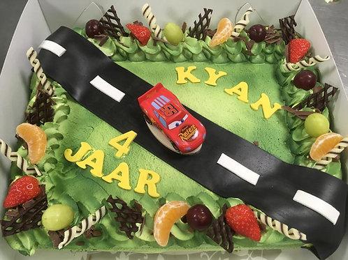Cars taart (12 personen)