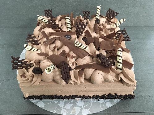 Chocolade Slagroomtaart - 16 personen