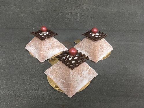 Sinaasappel/Chocolade Pyramide