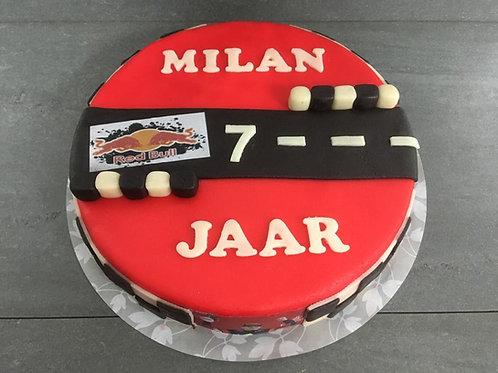 Max Verstappen taart (12 personen)