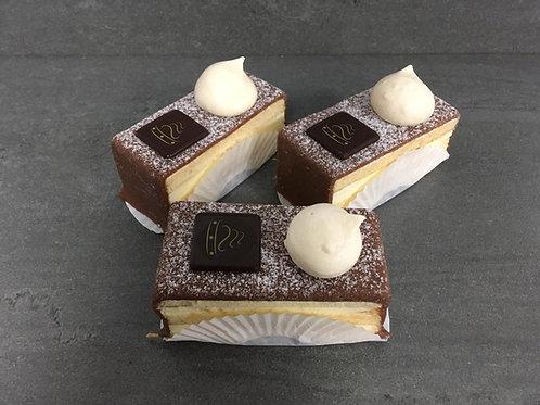 Marsepein crème gebak