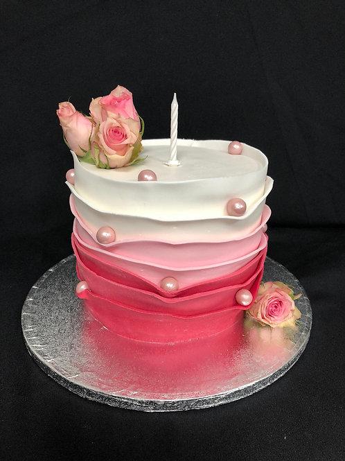 De Roos taart (10 personen)