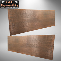 Hammered Copper Panels