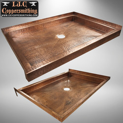 Copper Shower Base