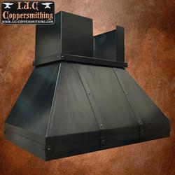 Black Iron Range Hood