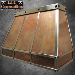 Copper & Stainless Hood