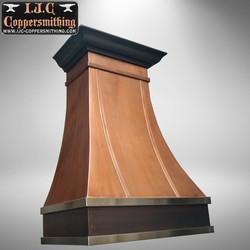 Copper & Stainless Range Hood
