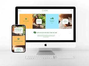 Ny hjemmeside for KOM - Kultur, opplevelser og mat