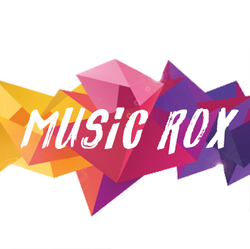 Music Rox Logo - piano lessons, guitar lessons, singing lessons