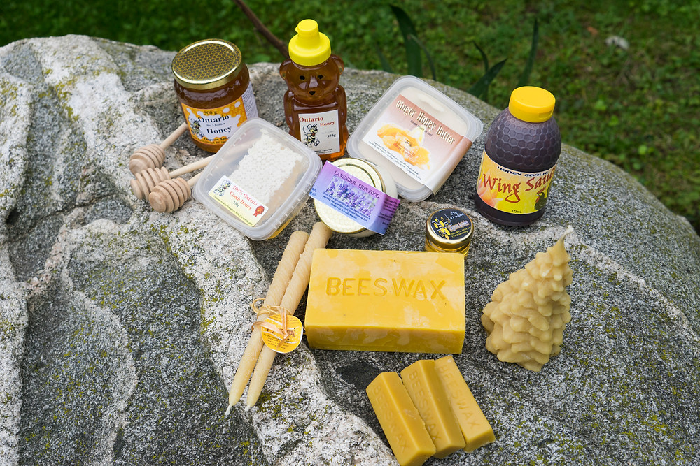 Assortment of Honey Products