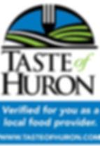 taste of huron logo, member
