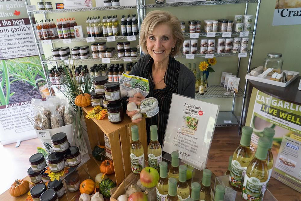 Jackie Rowe of the Garlic Box