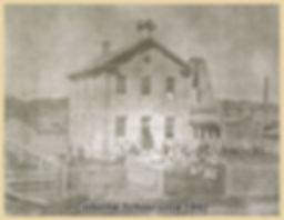 Colborne School Goderich, 1860