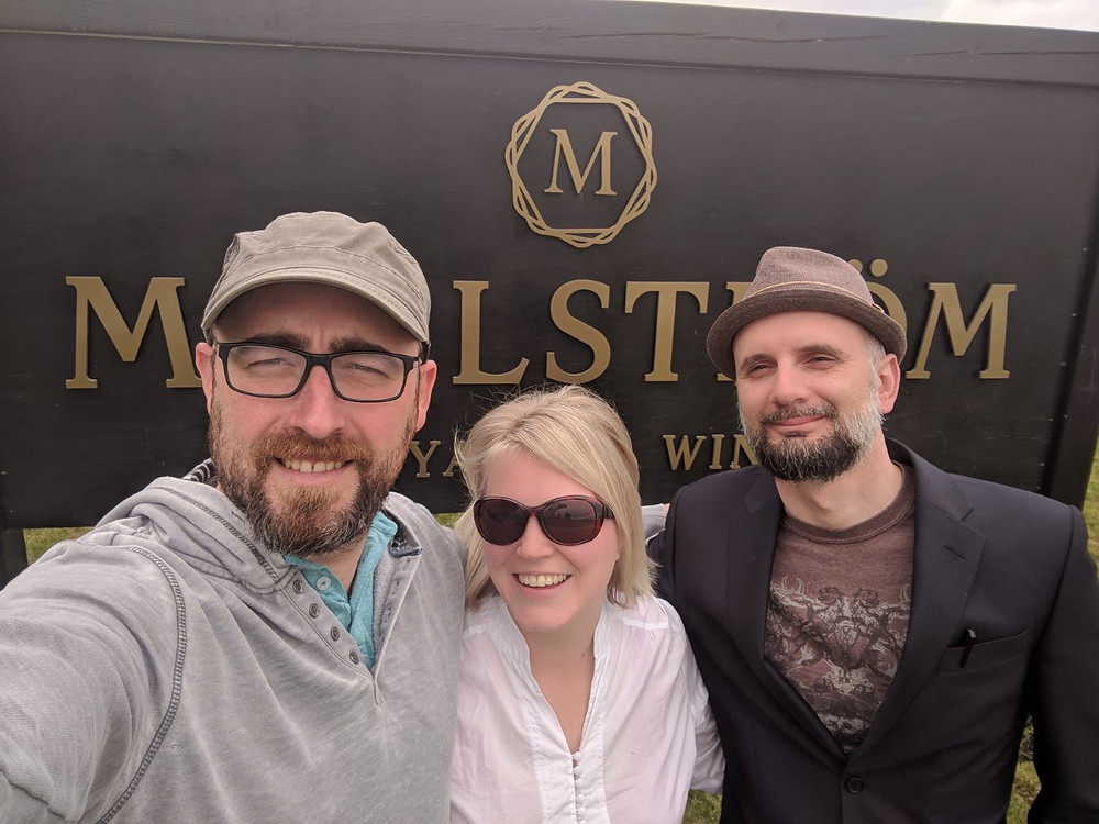 Maelstrom Winery Sign