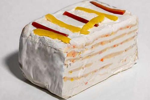 Siera kūka ar robiolu un pipariem
