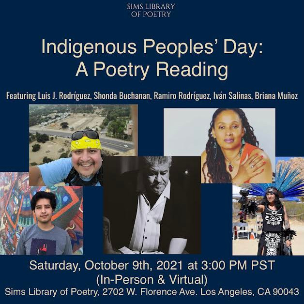 VIRTUAL: Indigenous Peoples' Day Poetry Reading