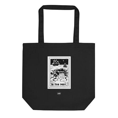 In Too Deep Black Eco Tote Bag