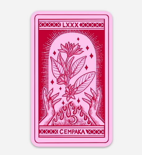 Cempaka Tarot Card Sticker