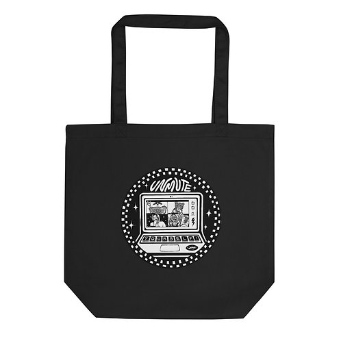 Unmute Yourself Black Eco Tote Bag