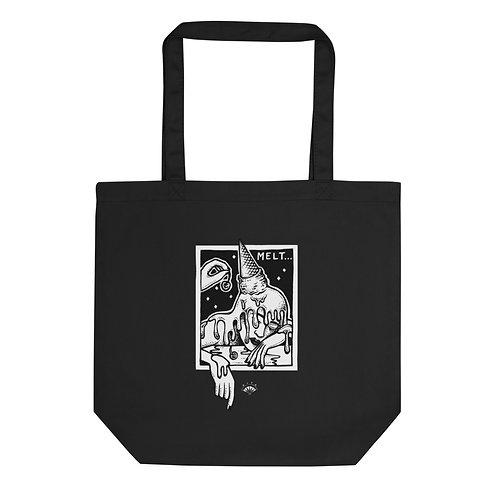 Melt Black Eco Tote Bag