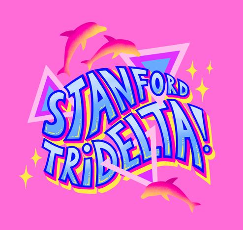 Stanford Tridelta Sticker Design