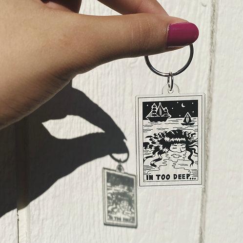 Gantungan Kunci Gadis