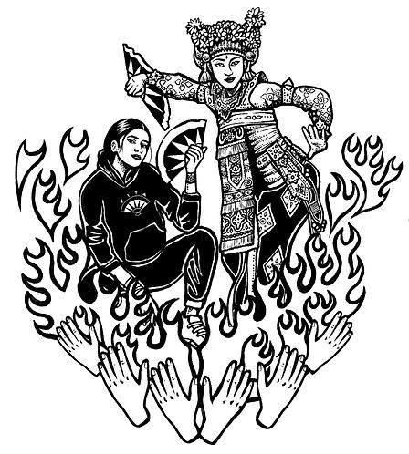 Jenni & Jessi Sticker