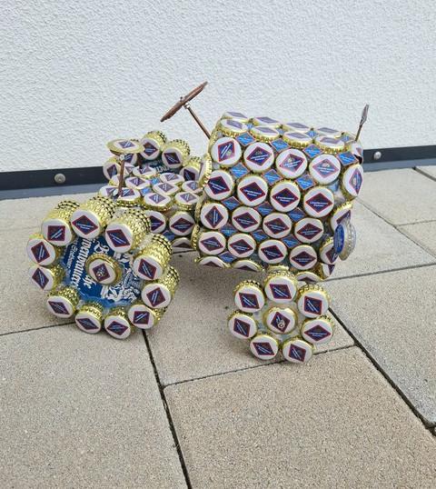 Oldtimer Bulldog mit Anhänger - eingereicht vom Bulldogverein Neukirchen / Inn