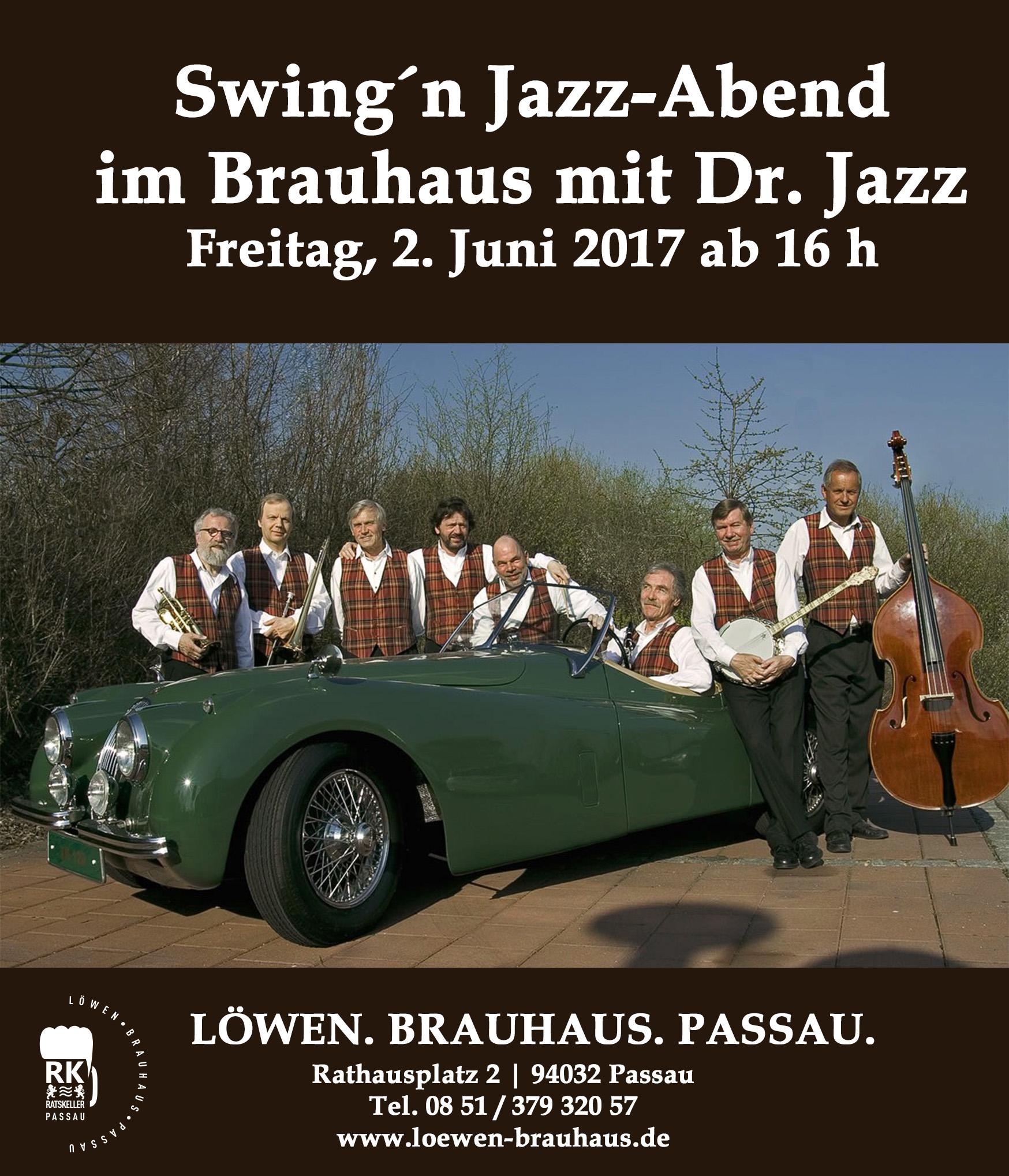 Jazz Abend am 2.6.17