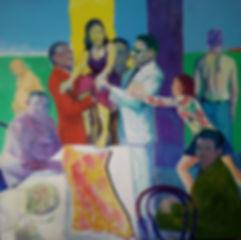 Купить картину современого грузинского художника Ильи Балавадзе в стиле постмодернизм.