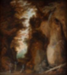 Купить старинную фламандскую картину, Картина маслом известного фламандского художника 17 века Момпера, пейзаж, старинная живопись, антиквариат