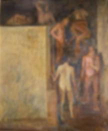 """Картины советских художников. Олег Филиппов """"Сандуны"""""""