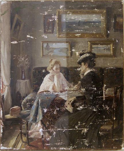 Реставрация картин, масляной станковой живописи
