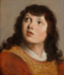 """Картины голландских художников 17 века. Якоб Баккер """"Святой Стефан"""""""