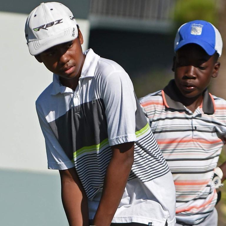 WeBlackWeGolf Youth Golf Clinic