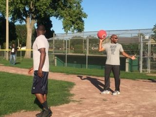 Kickball with Cops