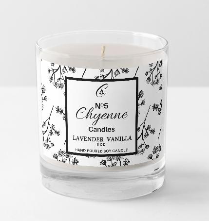 No 5 . - Lavender & Vanilla