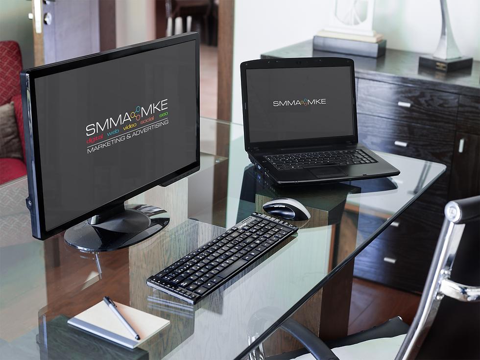 pc-desktop-and-laptop-mockup-at-a-corpor