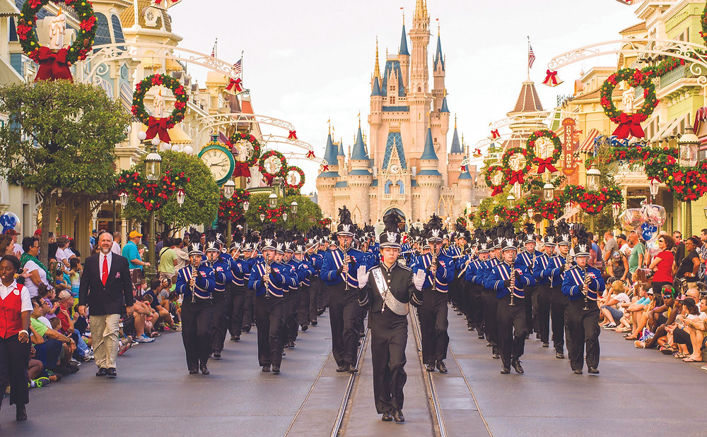 marching band disney