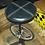 """Thumbnail: Барный стул """"Велосипед"""" выс.-80см."""