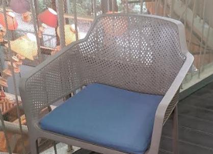 Стул Nardi Net Tortora с подушкой