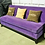 "Thumbnail: Диван ""Savona"" фиолетовый 177 см."