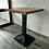 Thumbnail: Стол на подстолье Верона из цельноламельного дубового щита 60х60см.